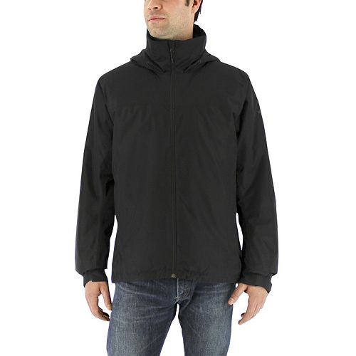 Men's adidas Outdoor Wandertag Climaproof Insulated Hooded Rain Jacket