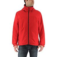 Men's adidas Outdoor Wandertag Climaproof Insulated Hooded Rain Jacket