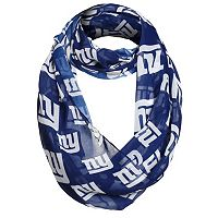 Forever Collectibles New York Giants Logo Infinity Scarf