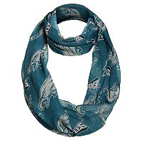 Forever Collectibles Philadelphia Eagles Logo Infinity Scarf