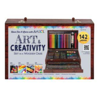 Art 101 142-pc. Wood Art Set