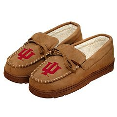 Men's Forever Collectibles Indiana Hoosiers Moccasin Slippers