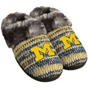 Women's Forever Collectibles Michigan Wolverines Peak Slide Slippers