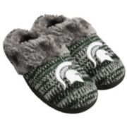 Women's Forever Collectibles Michigan State Spartans Peak Slide Slippers