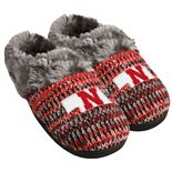 Women's Forever Collectibles Nebraska Cornhuskers Peak Slide Slippers