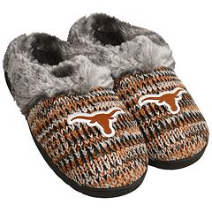 Women's Forever Collectibles Texas Longhorns Peak Slide Slippers