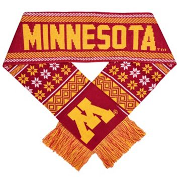 Adult Forever Collectibles Minnesota Golden Gophers Lodge Scarf
