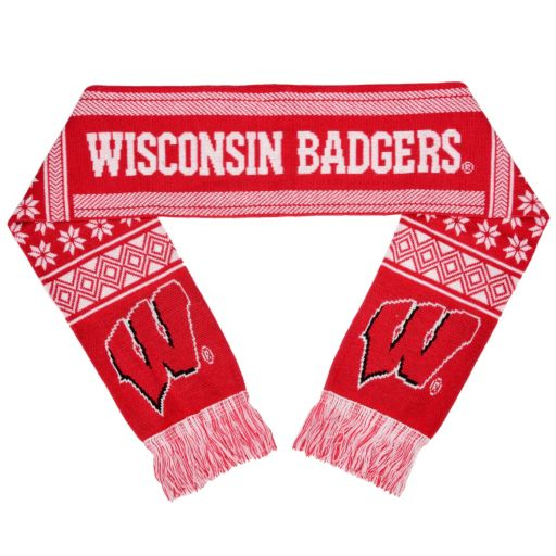 Adult Forever Collectibles Wisconsin Badgers Lodge Scarf