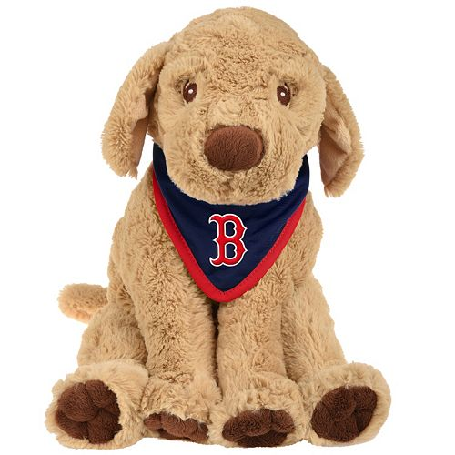 Forever Collectibles Boston Red Sox Plush Dog With Bandana