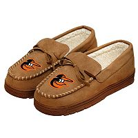 Men's Forever Collectibles Baltimore Orioles Moccasin Slippers