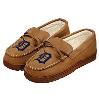 Men's Forever Collectibles Detroit Tigers Moccasin Slippers