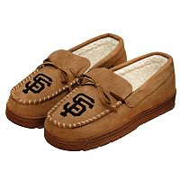 Men's Forever Collectibles San Francisco Giants Moccasin Slippers