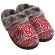 Women's Forever Collectibles Boston Red Sox Peak Slide Slippers