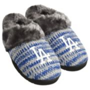 Women's Forever Collectibles Los Angeles Dodgers Peak Slide Slippers
