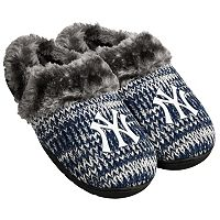 Women's Forever Collectibles New York Yankees Peak Slide Slippers
