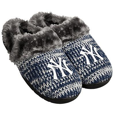Women's Forever Collectibles New York Yankees Peak Slide Slippers