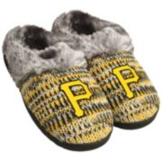 Women's Forever Collectibles Pittsburgh Pirates Peak Slide Slippers