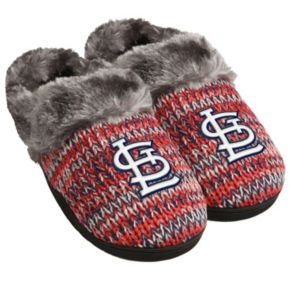 Women's Forever Collectibles St. Louis Cardinals Peak Slide Slippers