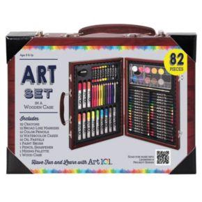 Art 101 82-pc. Wood Art Set