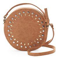 Olivia Miller Amelia Studded Canteen Crossbody Bag