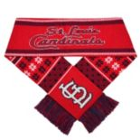 Adult Forever Collectibles St. Louis Cardinals Lodge Scarf