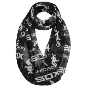 Women's Forever Collectibles Chicago White Sox Logo Infinity Scarf