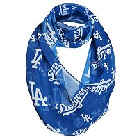 Women's Forever Collectibles Los Angeles Dodgers Logo Infinity Scarf