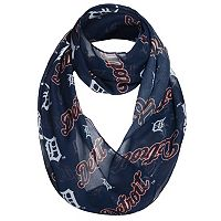 Women's Forever Collectibles Detroit Tigers Logo Infinity Scarf