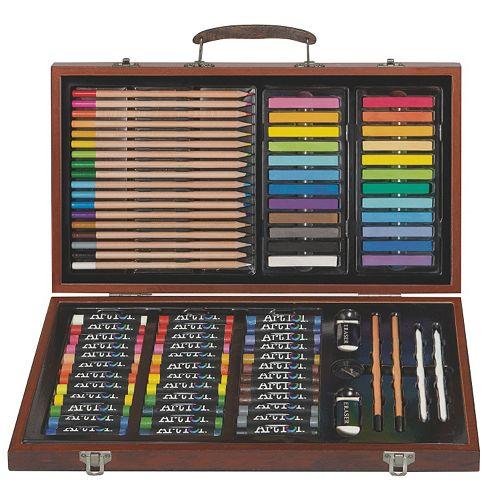 Art 101 111-pc. Drawing, Sketching & Doodling Wood Art Set