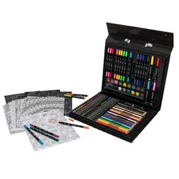 Art 101 128-pc. Doodlebliss Deluxe Art & Meditation Set