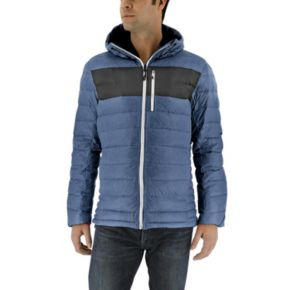 Men's adidas Outdoor Frost Climaheat Hooded Ripstop Puffer Jacket