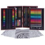 Art 101 168 pc Budding Artist Wood Art Set
