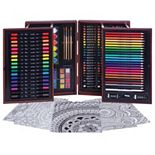 Art 101 168-pc. Budding Artist Wood Art Set