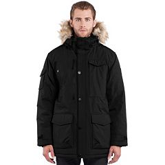 Men's Noize Three-Quarter Faux-Fur Hooded Parka by