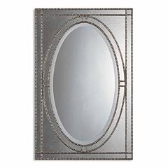 Earnestine Beaded Wall Mirror