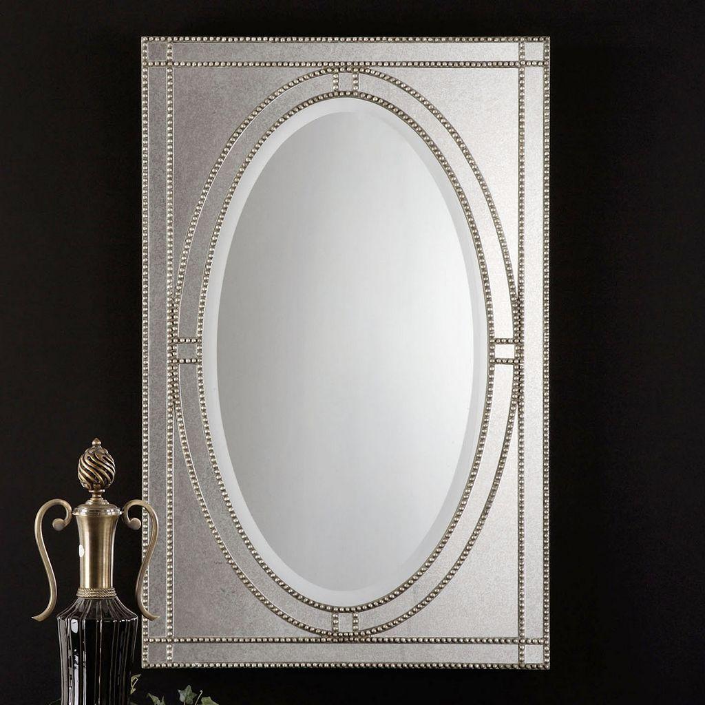 Earnestine Beaded Wall Mirror