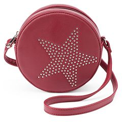 Olivia Miller Star Studded Canteen Crossbody Bag
