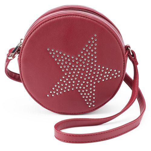 Olivia Miller Star Studded Canteen Crossbody Bag