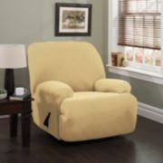 Stretch Sensation Double Diamond Jumbo Recliner Stretch Slipcover