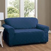 Stretch Sensation Double Diamond Sofa Stretch Slipcover