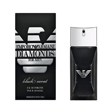 Emporio Armani Diamonds Black Carat Men's Cologne - Eau de Toilette