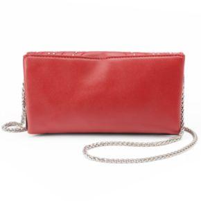 Olivia Miller Vivica Chevron Studded Crossbody Bag
