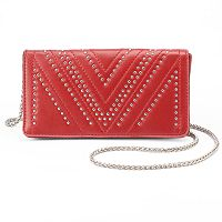Olivia Miller Vivica Chevron Studded Crossbody Bag