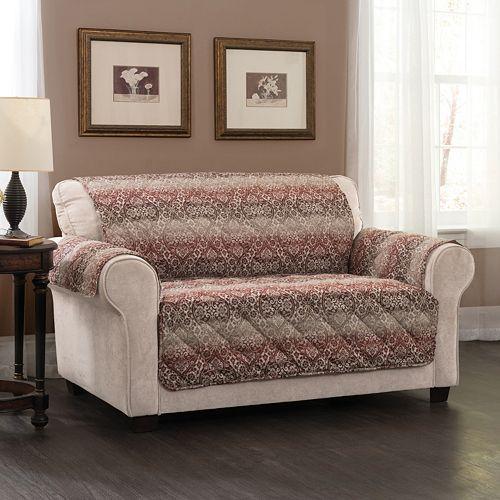 Innovative Textile Solutions Festive Loveseat Slipcover