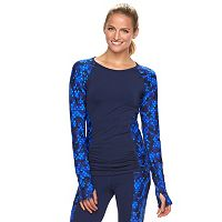 Women's TYR Aria Printed Rash Guard