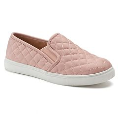 SO® Bay Women's Quilted Slip-On Sneakers