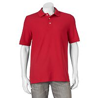 Men's Croft & Barrow® Performance Tailored-Fit Pique Polo