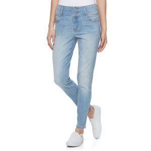 Juniors' Tinseltown Double Stack Jeggings