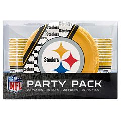 Pittsburgh Steelers 20-Place Setting Party Pack