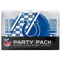 Indianapolis Colts 20-Place Setting Party Pack